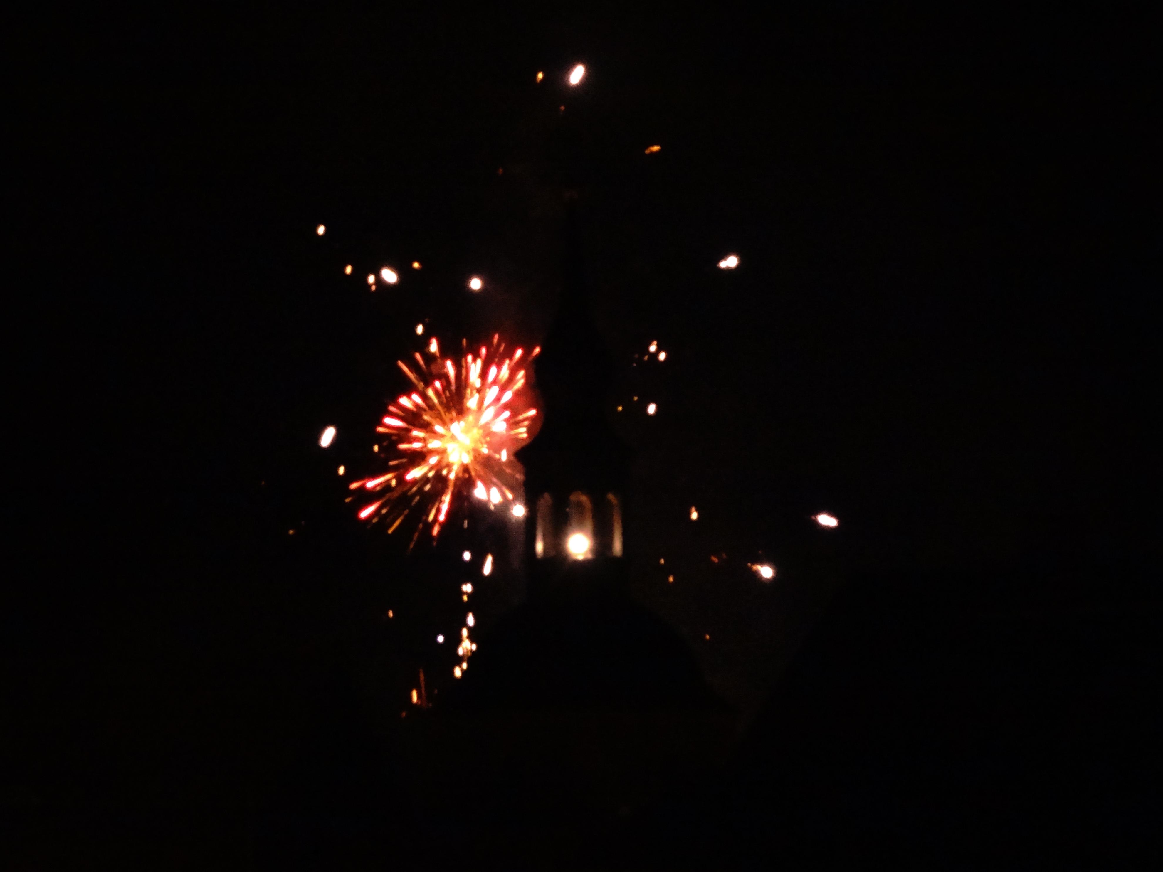 Feuerwerk Glashütte 2012