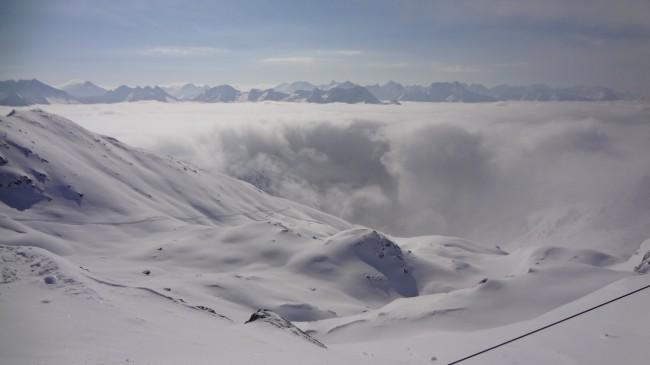 Über den Wolken in der Zillertal Arena