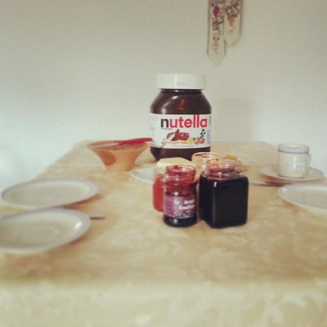 Sonntagsfrühstück.