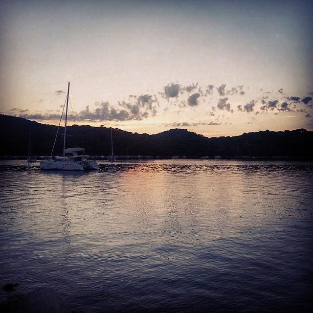 Sonnenuntergang #Kroatien