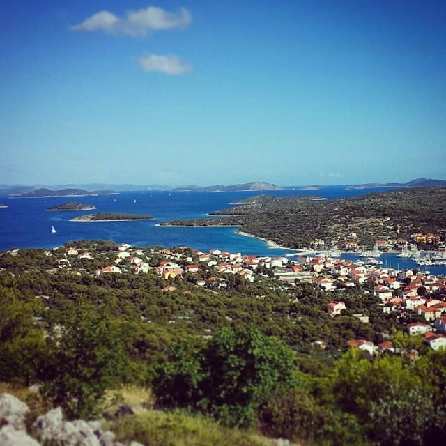 Tolle Aussicht #Kroatien