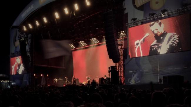 Die Beatsteaks haben den Auftritt zumindest teilweise gefilmt - mal schauen ob bzw. wann es die Aufnahmen zu sehen gibt.