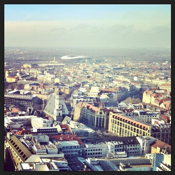 Stadt #Leipzig vom Turm
