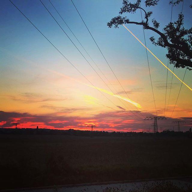 Wieder ein #Sommertag zu Ende. #Sonnenuntergang #sunset