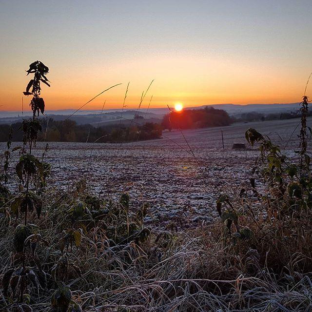 Heute etwas ausgeschlafen, hat sich gelohnt 🌞️☃️#sunrise #winterwonderland