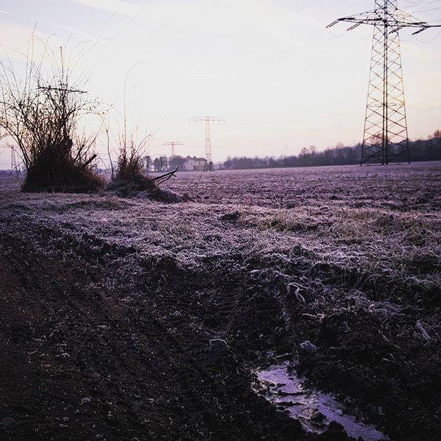 Ein neuer Tag. #sunrise #winterwonderland