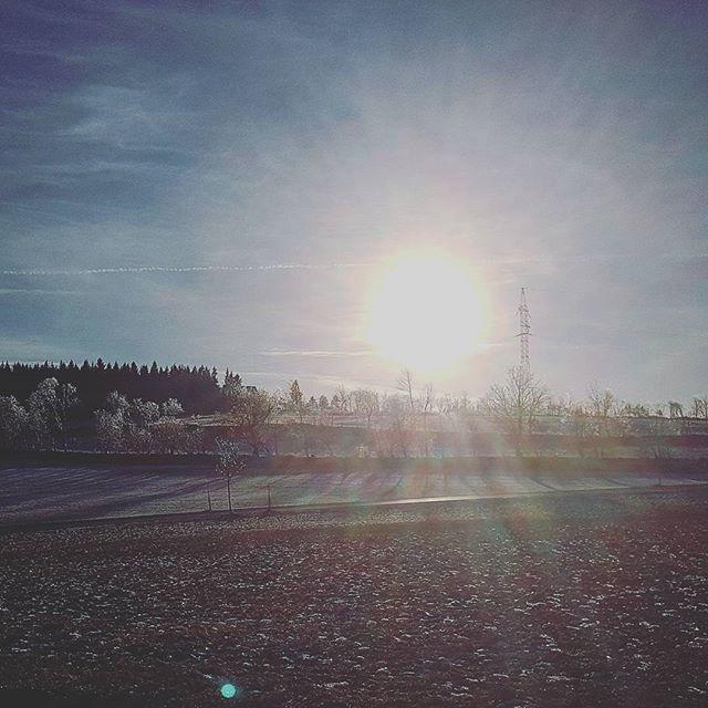 Es gibt ihn scheinbar schon, den #Winter, es kommt nur auf den vertikalen Abstand zum Meer an. #winterwonderland