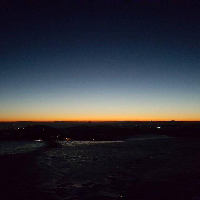 Auf geht's. #goodmorning #sunrise