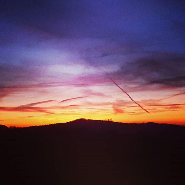 Schon wieder ein Sonnenuntergang #sunset #again