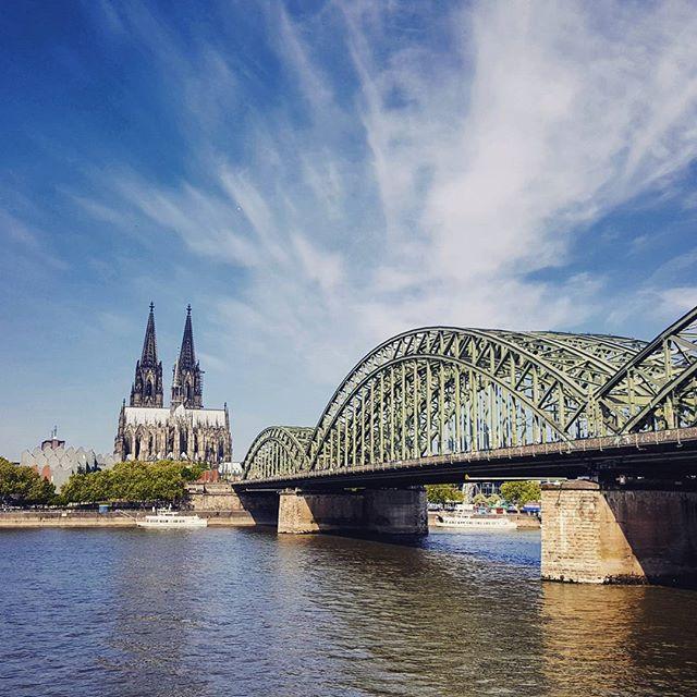 Angekommen in Köln zur #HeimWM