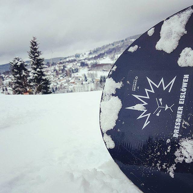 Erster Rutsch der Saison #snowboard #winter