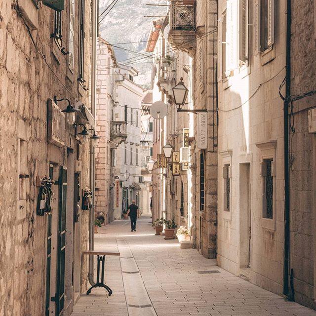 Die ehemalige Hauptstraße von #Makarska #croatia🇭🇷