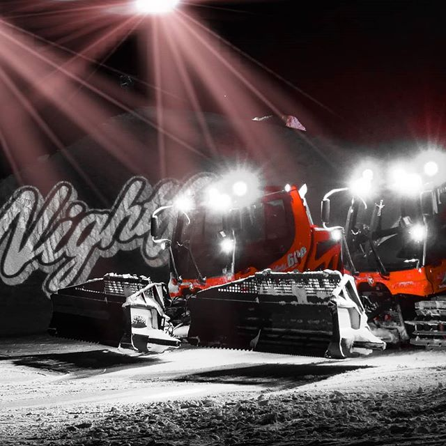 Pistenbully @ Nightflow Fiss #serfausfissladis #MaximumFilter